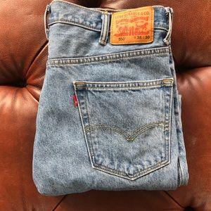 Levi's 550 38 x 30 Blue Jeans